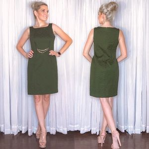 Green Business Professional Dress - Taylor